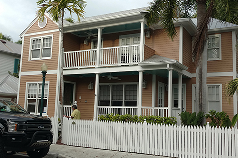 Exterior Repaint of a Key West Home