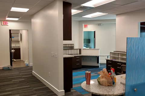 Precision Painting Corp Painting Oral Surgey Office